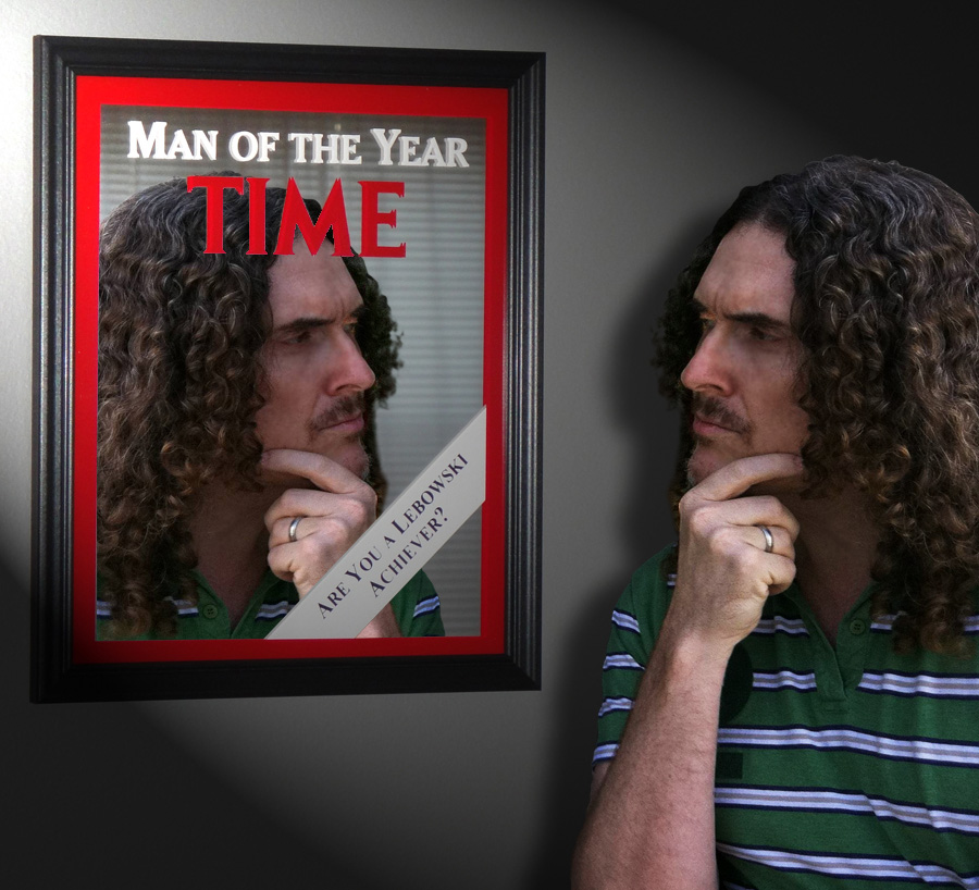 a man always in time!